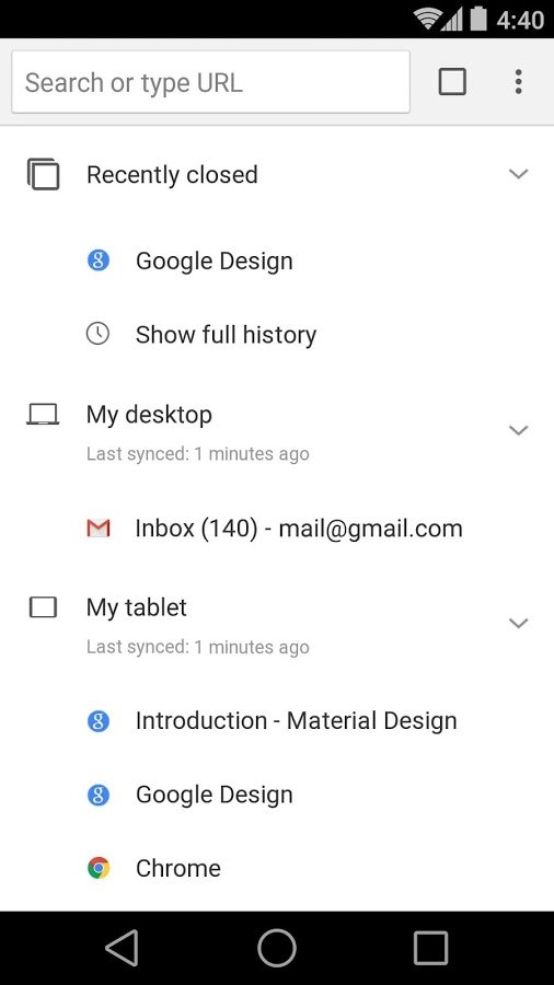 Download apk in chrome